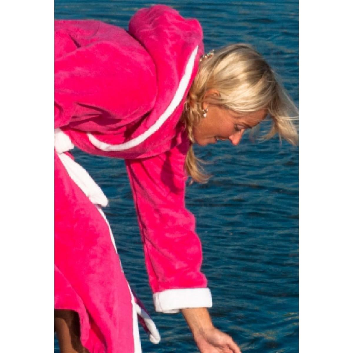 capuchon badjassen van fleece