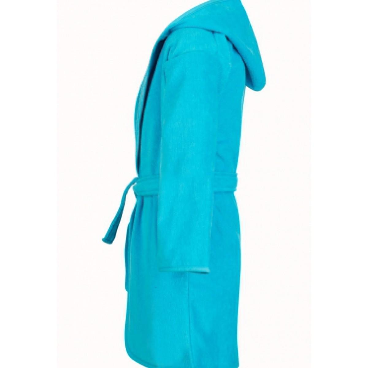 Turquoise kinderbadjas
