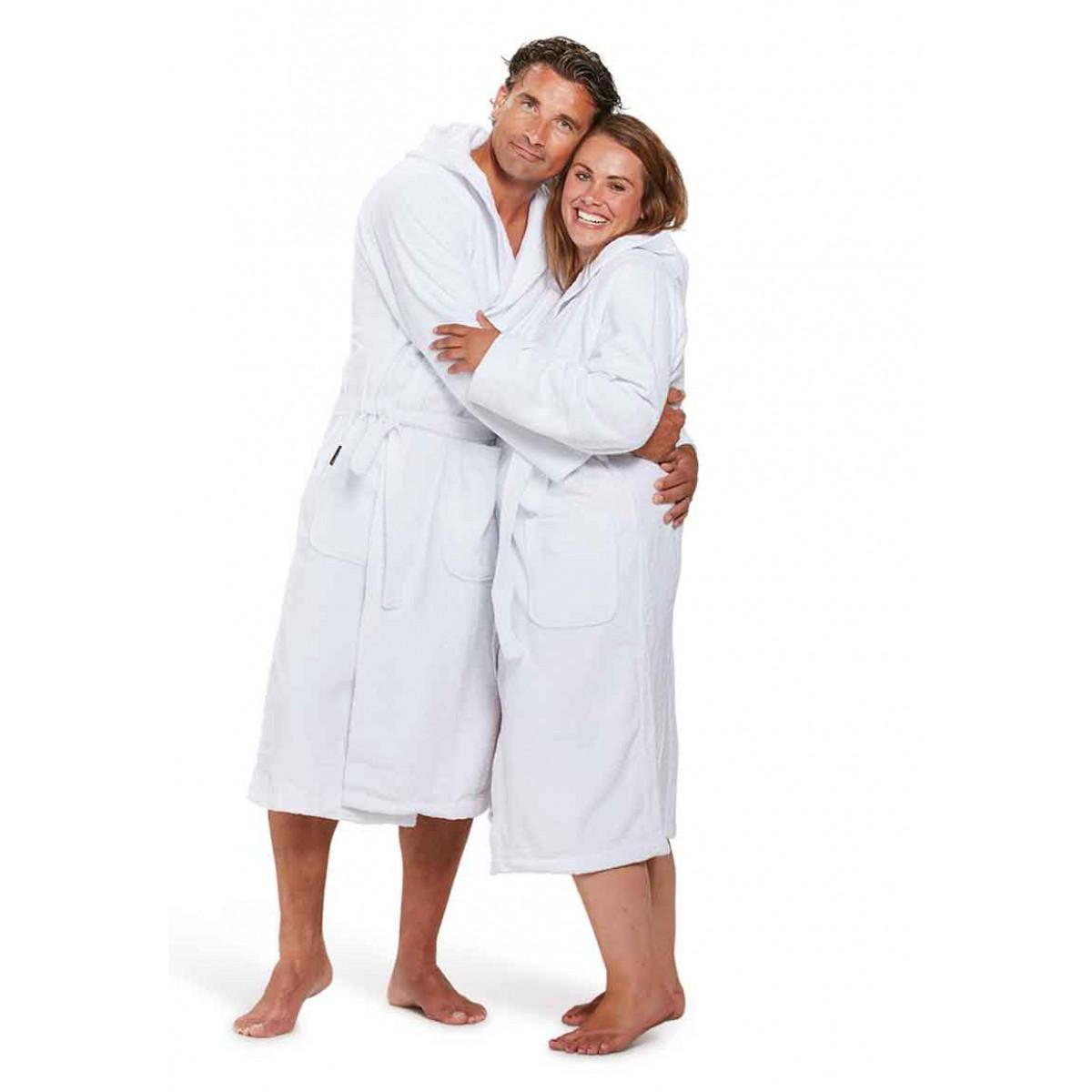 witte badjas