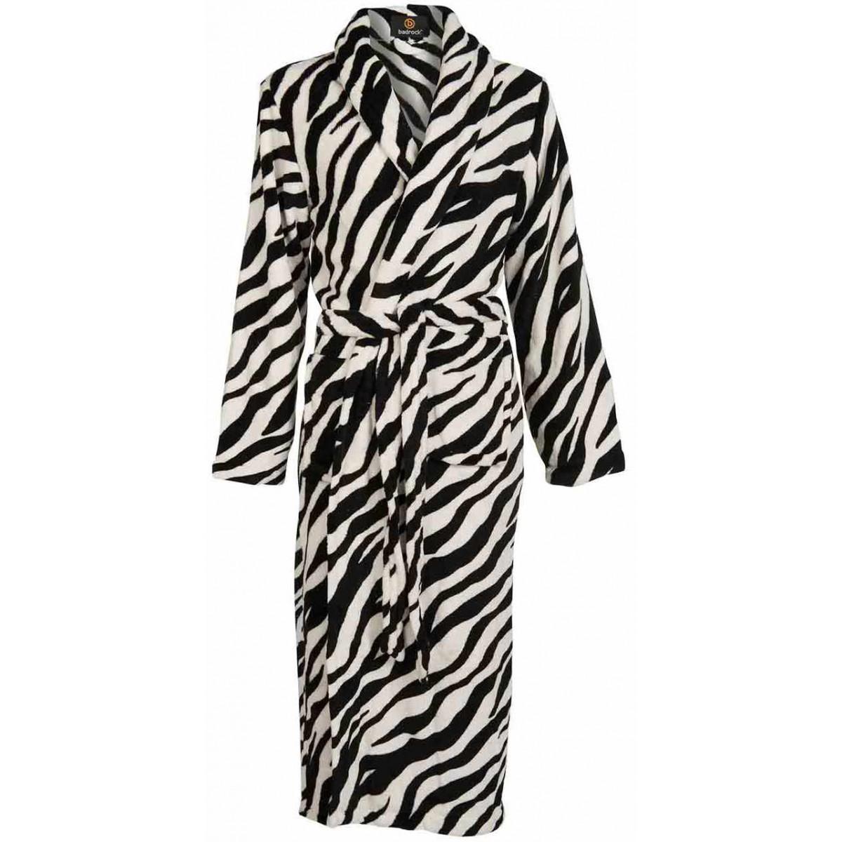 Badjas dames zebra dessin