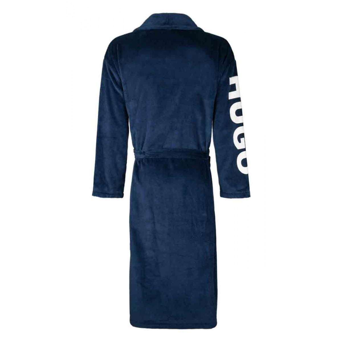 Badjas met geprinte mouw