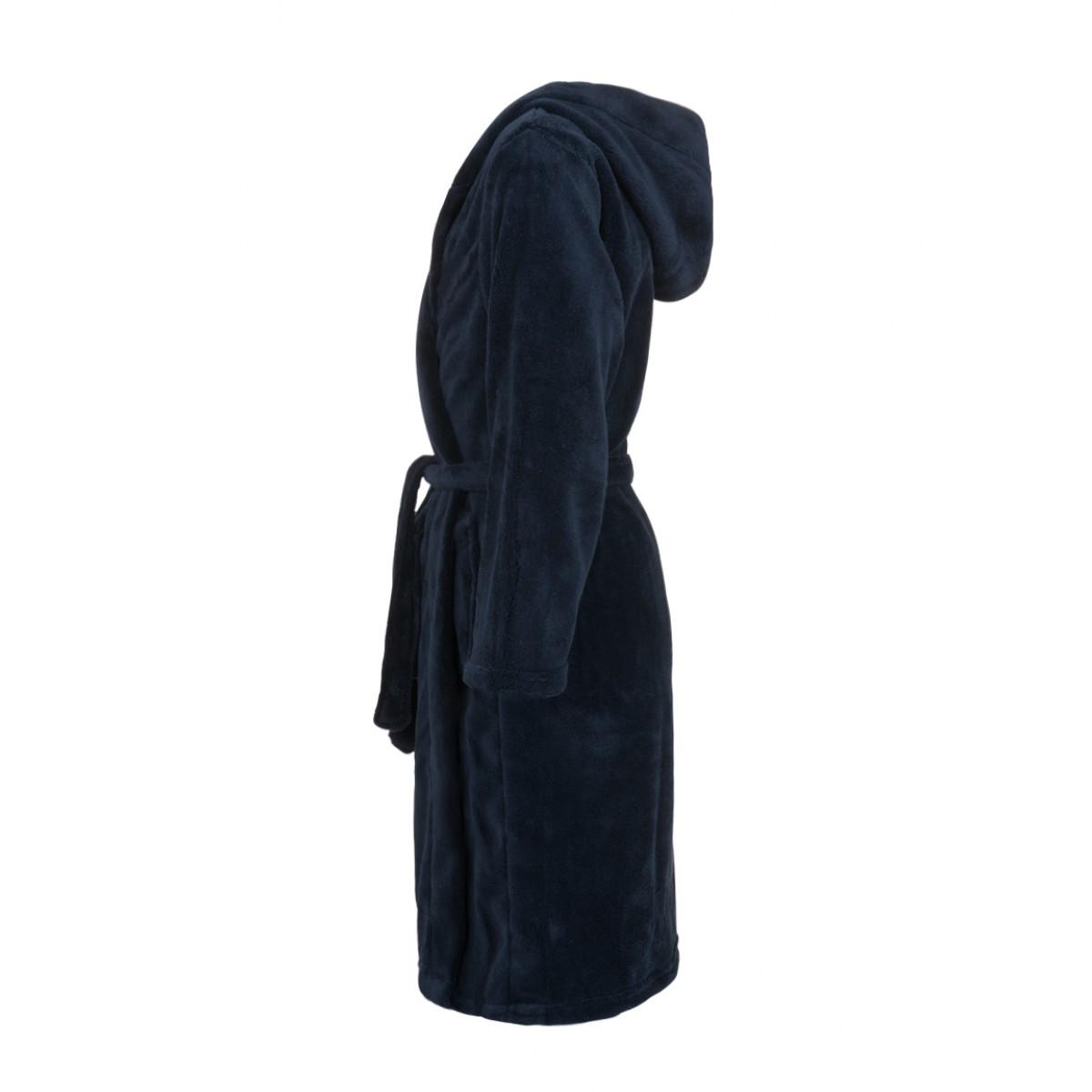 Stoere jongensbadjas met kap