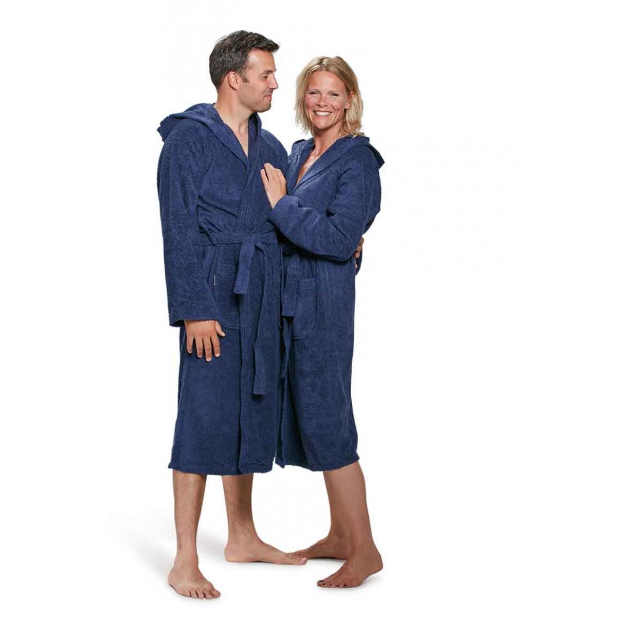 Blauwe badjas kopen