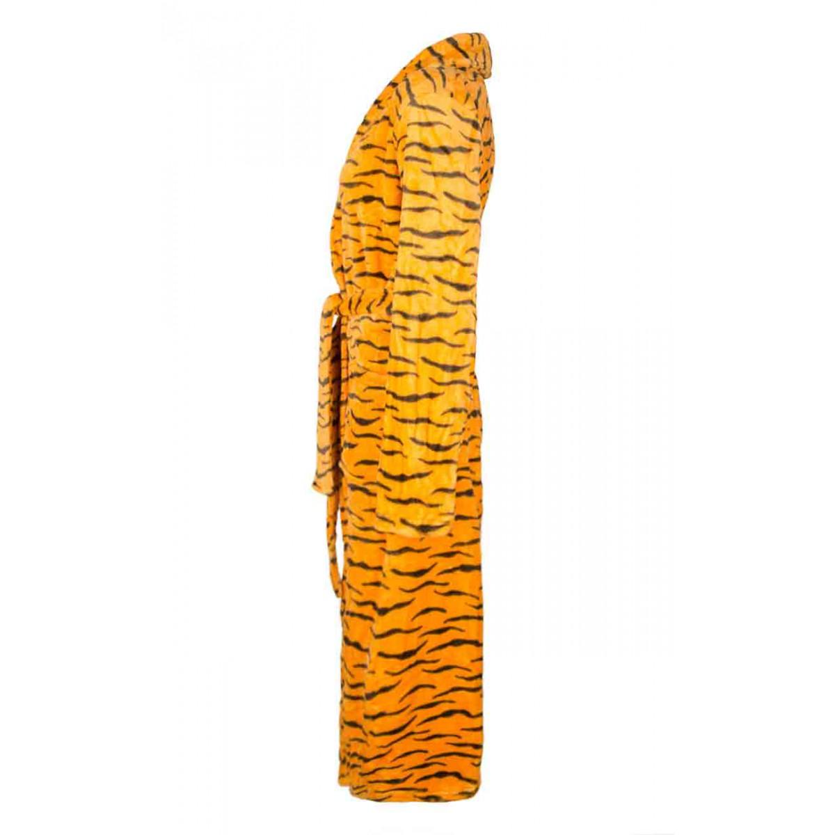 damesbadjas tijgerprint