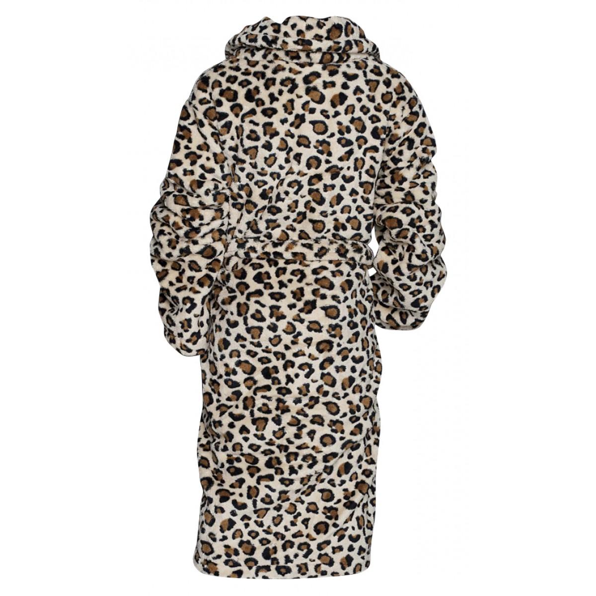 kinderbadjas-badjas fleece met print