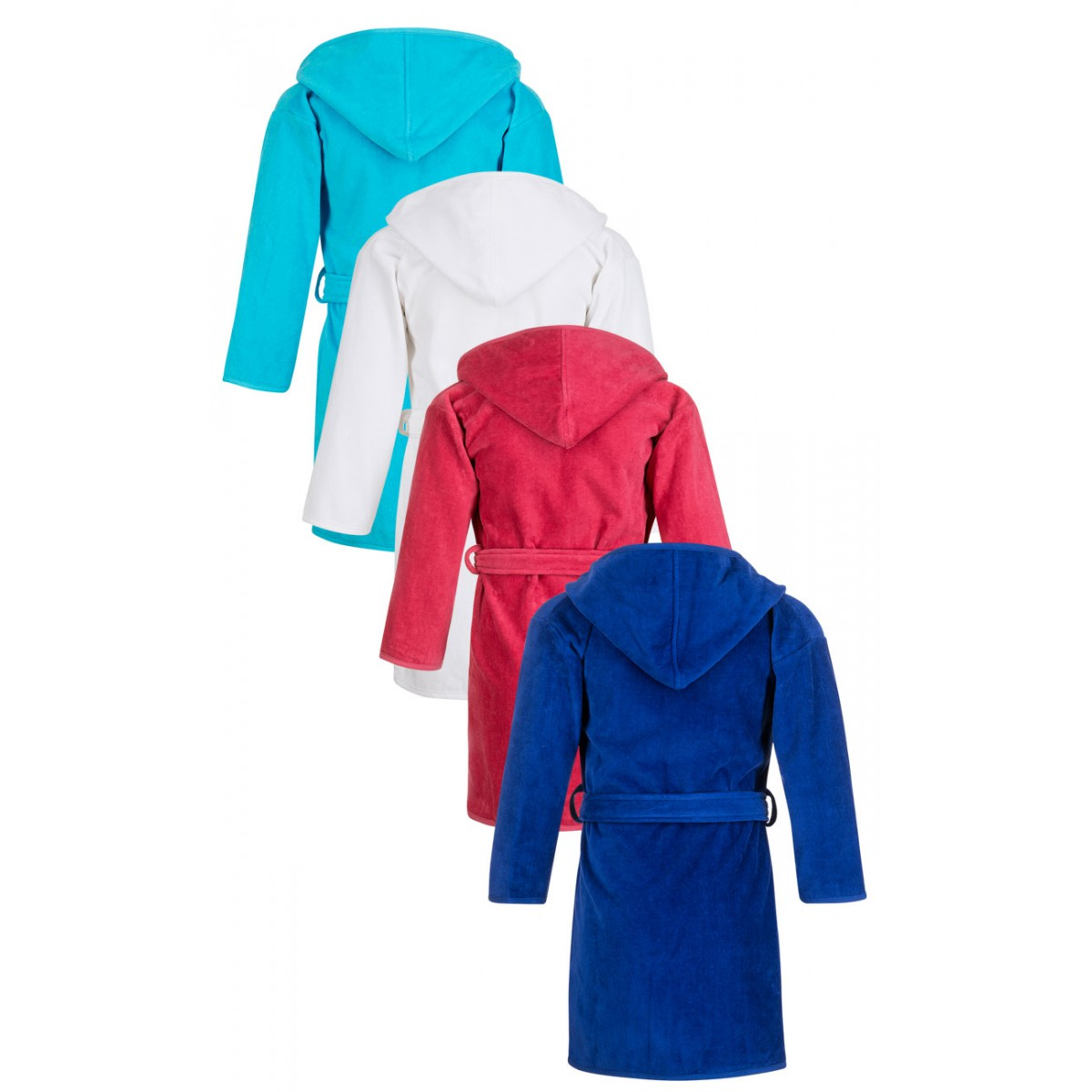 Gekleurde kinderbadjassen