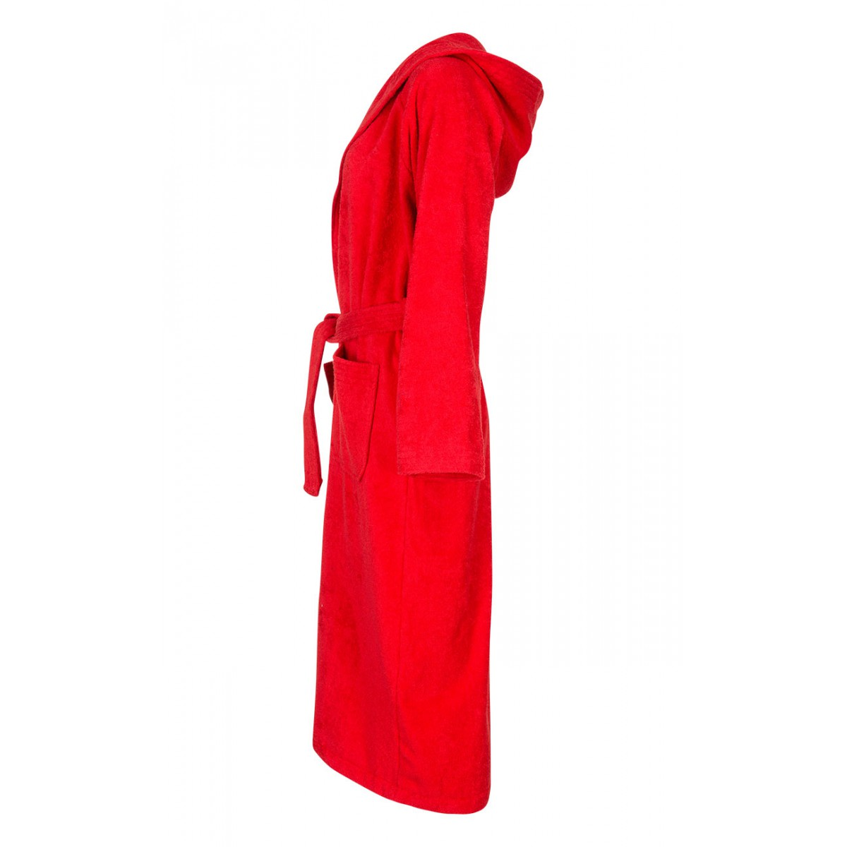 Rode unisex badjas