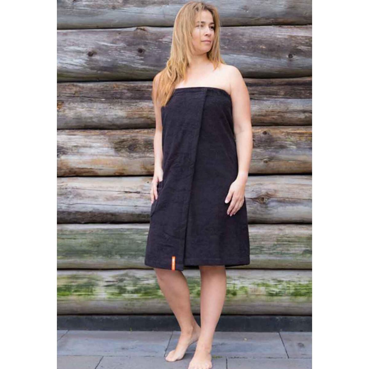 Sauna handdoeken met klittenband - dames