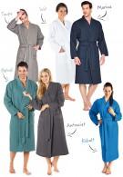 Lichtgewicht badjas voor sauna