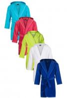 Uni kinderbadjasjes in 5 kleuren