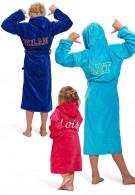 Kinderbadjas met naam
