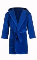 Kinderbadjas kobaltblauw