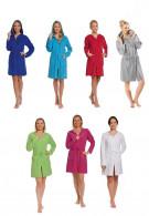 Rits badjas dames div. kleuren