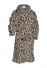 Kinderbadjas met luipaard print