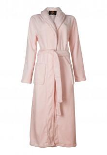fleece badjas roze