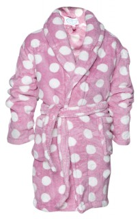 roze kinderbadjassen