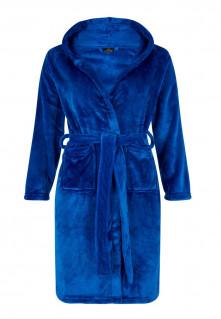 blauwe kinderbadjas