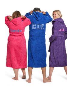 badjassen personaliseren met borduring