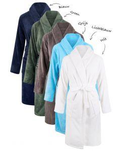 fleece badjassen personaliseren met borduring