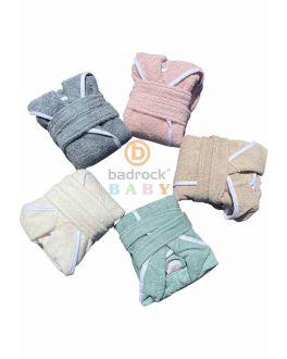 Baby badjas met naam personaliseren