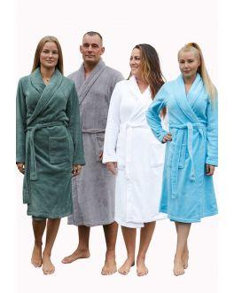 Badjas fleece voor hem & haar – 5 kleuren