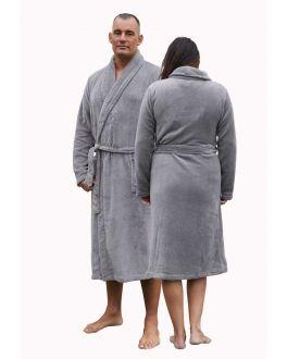 unisex fleece badjas relax company