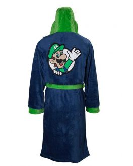 Heren badjas Luigi Nintendo
