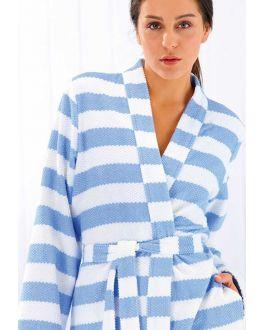 Kimono dames frisse strepen