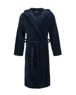 Kinderbadjas blauw