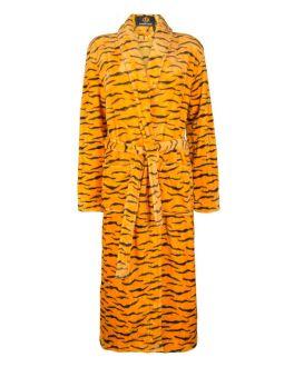 Dames badjas tijgerprint
