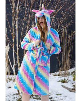 Capuchon damesbadjas Unicorn