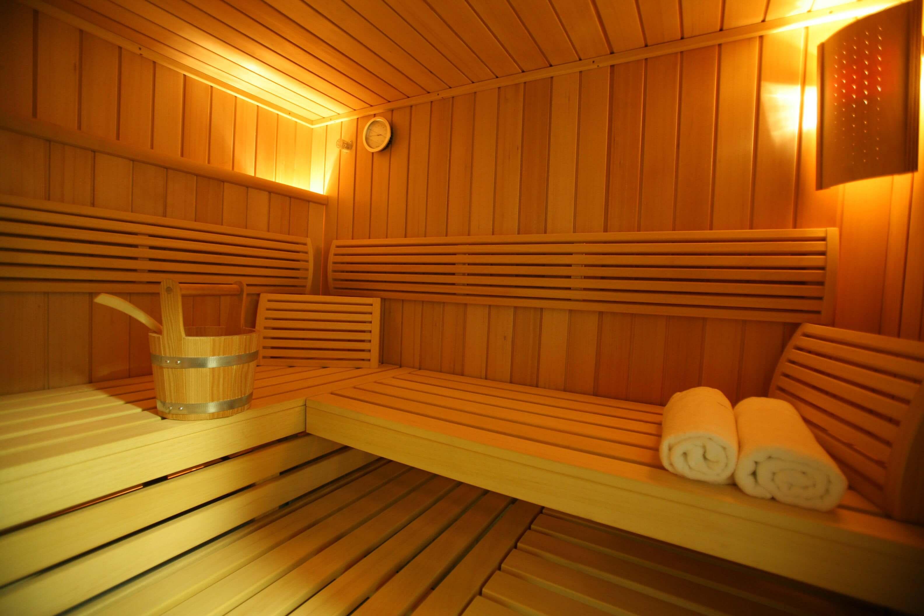 badjas voor sauna bezoek